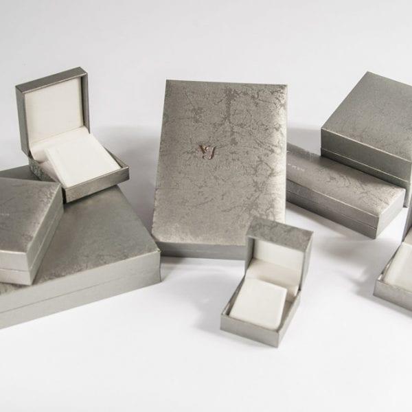 קופסאות דמוי עור SILVER