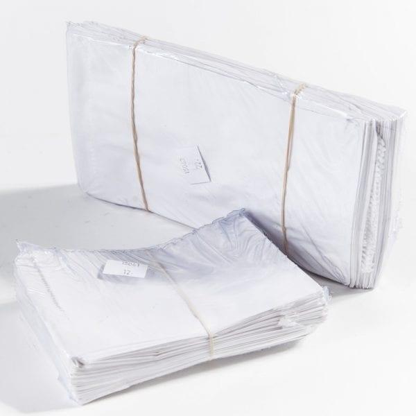 שקיות נייר לבנות לתיקונים